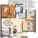 Thumbnail image for ~\imgProject\Assotech\FloorPlans\Assotech2BHK1050.jpg